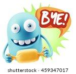 3d rendering. candy gift... | Shutterstock . vector #459347017