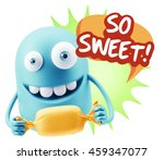 3d rendering. candy gift... | Shutterstock . vector #459347077
