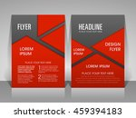 illustration of brochure flyer...   Shutterstock .eps vector #459394183