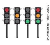 traffic light vector background ...   Shutterstock .eps vector #459420577