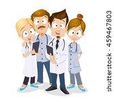 cartoon vector illustration of... | Shutterstock .eps vector #459467803