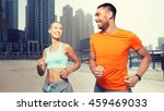 fitness  sport  exercising and... | Shutterstock . vector #459469033