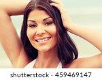 summer vacation  tourism ... | Shutterstock . vector #459469147