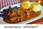 thuringian klosse dumplings... | Shutterstock . vector #459506077