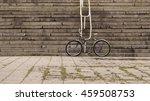 fixed gear black retro style...   Shutterstock . vector #459508753