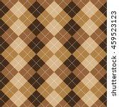 seamless argyle pattern.... | Shutterstock .eps vector #459523123