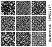 set of 9 pattern with random ... | Shutterstock .eps vector #459533167