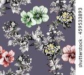 watercolor seamless pattern...   Shutterstock . vector #459533893