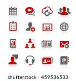 business network icons | Shutterstock .eps vector #459536533