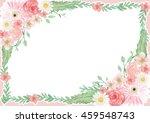 flower background for wedding... | Shutterstock . vector #459548743