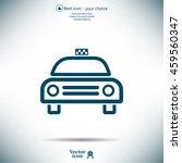taxi icon | Shutterstock .eps vector #459560347
