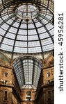 vittorio emanuele gallery... | Shutterstock . vector #45956281