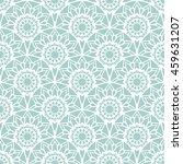 rising sun seamless pattern.... | Shutterstock .eps vector #459631207