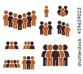 people icon set | Shutterstock .eps vector #459659023