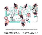vector business ideas using...   Shutterstock .eps vector #459663727