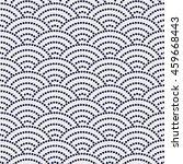 variation of japanese motif... | Shutterstock . vector #459668443