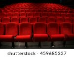 cinema   theater seats | Shutterstock . vector #459685327