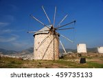Traditional Windmill In Bodrum...