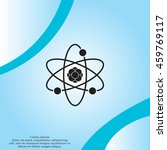pictograph of atom | Shutterstock .eps vector #459769117