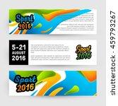 summer sport 2016  design for... | Shutterstock .eps vector #459793267