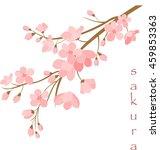 vector illustration. branch of...   Shutterstock .eps vector #459853363