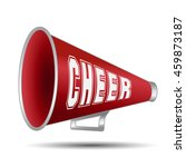 megaphone cheer used by... | Shutterstock .eps vector #459873187
