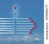 disruptive change as an... | Shutterstock . vector #459898177