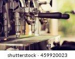 coffe manchine professional... | Shutterstock . vector #459920023