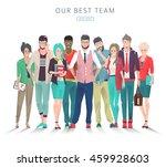 modern vector illustration  ...   Shutterstock .eps vector #459928603