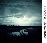 background of dark sky before a ...   Shutterstock . vector #459929347