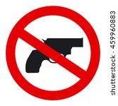 no guns sign  gun free zone sign