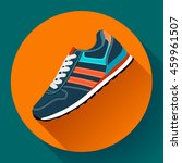 sport shoes icon fitness... | Shutterstock .eps vector #459961507