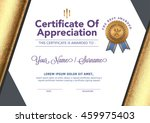 certificate to be elegant and... | Shutterstock .eps vector #459975403