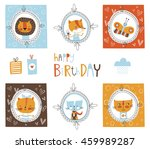 big set of cute elements for... | Shutterstock .eps vector #459989287