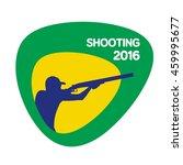 shooting icon  vector... | Shutterstock .eps vector #459995677