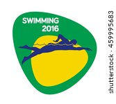 swimming icon  sport icon ... | Shutterstock .eps vector #459995683