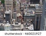 aerial rooftop photo of midtown ... | Shutterstock . vector #460021927