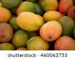 Pile Of Fresh Mango Fruits...