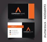 creative   simple corporate... | Shutterstock .eps vector #460068493