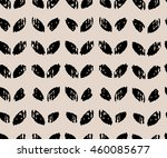 hand drawn seamless ink petal... | Shutterstock .eps vector #460085677