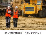 Man And Woman Working In An...