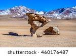 the stone tree  eduardo avaroa... | Shutterstock . vector #460176487