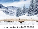 deck and snow  | Shutterstock . vector #460223737