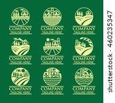 farm logos | Shutterstock .eps vector #460235347