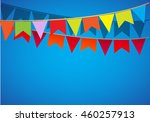 a holiday background with flag. ...   Shutterstock .eps vector #460257913