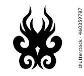 tattoo tribal vector designs... | Shutterstock .eps vector #460359787
