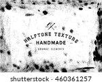 halftone dots vector texture... | Shutterstock .eps vector #460361257
