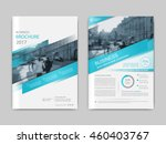 cover design annual report... | Shutterstock .eps vector #460403767