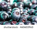 bilberry macro on other berry... | Shutterstock . vector #460603963