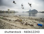 garbage and pollution from... | Shutterstock . vector #460612243